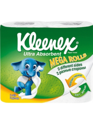 Kleenex Ультра Абсорбент Mega Rolls