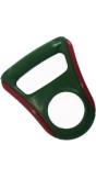 Ручка для переноса прорезиненная (зеленая)